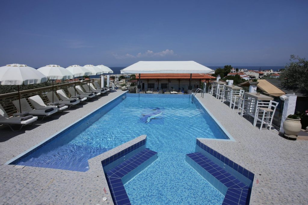 thassos hotel with pool - Studios Anny Houses